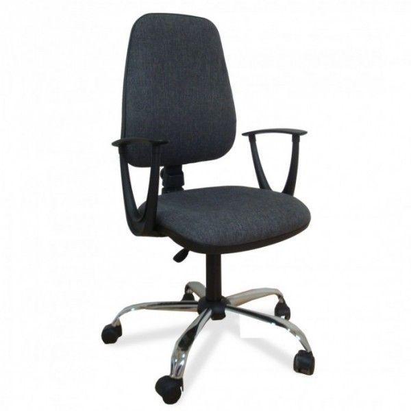 Daktilo stolica M180/cp/hrom/ pvc