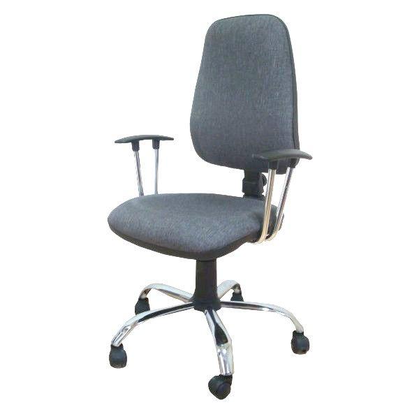 Daktilo stolica M180/cp/hrom/ hrom
