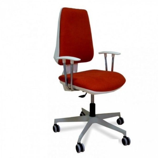 Radna stolica M 201 bela-asin